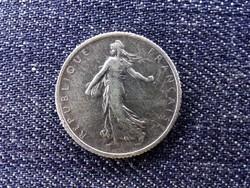 Franciaország Harmadik Köztársaság .835 ezüst 1 Frank 1919  / id 14200/