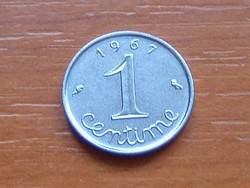 FRANCIA 1 CENTIME 1967 #