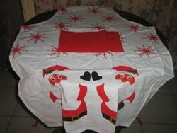 Csodaszép fehér karácsonyi mintás kötény új