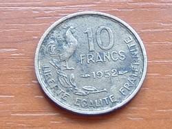 FRANCIA 10 FRANK FRANCS 1952 KAKAS #