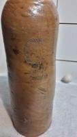 Nassaui Rákóczi jelzéssel, (1869-1870) kőagyag ásványvizes palack...