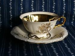 A06 Bavária szépen aranyozott kávés csésze