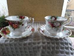 Royal albert csészék 2,5 dl-esek 2 szett