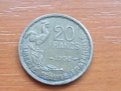 FRANCIA 20 FRANK FRANCS 1950 KAKAS #