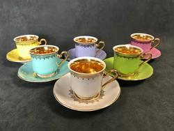 Porcelán kávéskészlet / Loucky / Mary Anne