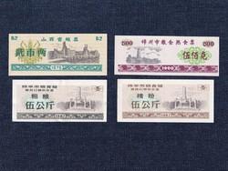 Kínai vásárlási jegy 4 darabos szett / id 12865/