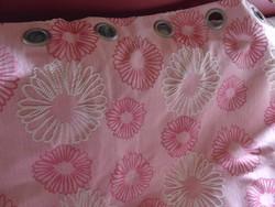 VÉGKIÁRUSÍTÁS !!! 2 db szépséges rózsaszín sötétítő függöny