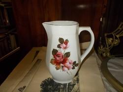 Gyönyörű Rózsáskancsó Az Alfoldi Porcelángyárból