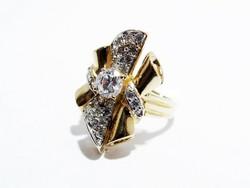 Arany női köves gyűrű (D25-Au86347)