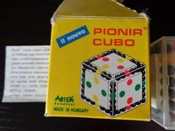 ARTEX HUNGARY   PIONIR CUBO!    Logikai játék  1983'