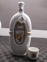 Hollóházi pálinkás butella