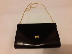 Nagyon szép fekete, alkalmi női  bőr táska