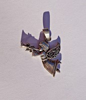 925-ös harsonás angyal medál