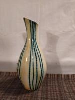 Extrém ritka színben és formában Gondos József kerámia váza!