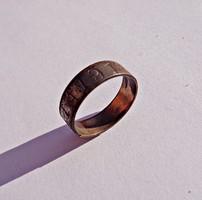 Arany és vas Pro Patria 1914 gyűrű