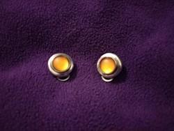 Régi klipsz 925-ös ezüst jelzéssel, fülbevaló antique silver earring