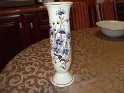 Zsolnay búzavirágos váza Ritkaság!!!