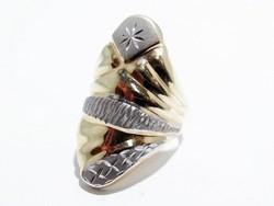 Arany női vésett gyűrű (D25-Au86384)