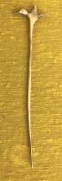 Szecessziós ezüst kalaptű