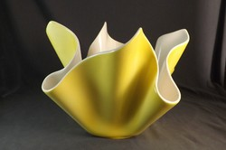 Régi porcelán asztalközép ,kaspó ,különleges forma