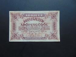 100000 adópengő 1946 Sorszám nélküli  03