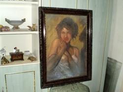 "Rippl Rónai""Női portré"""