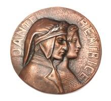 Dante / Beatrice plakett