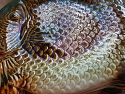 Gránit halas étkészlet,19 db
