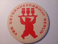 Söralátétek az egykori NDK-ból. 1970-es évek.