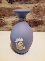 Wedgwood kék váza Gyönyörű