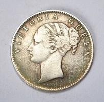 1840, BRIT-INDIA EZÜST 1 RÚPIA