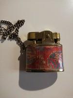 Vintage aranyozott mini ékszeröngyújtó