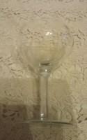Régi szép talpas pohár