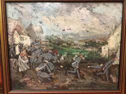 Farkasházy Miklós :  Háború