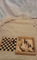 Kisméretű sakk készlet