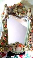 Barokk puttos tükör