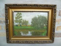 Vidovszky Béla (1883-1973): Szigligeti kertről