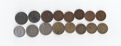 16 db Pfennig 1889 - 1995