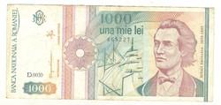 1000 lei 1991 2. Románia