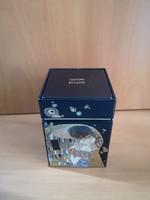 Goebel Artis Orbis Klimt-Csók fém teásdoboz, hibátlan, teljesen új!