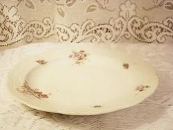 Igen ritka mesés antik porcelán kínáló tál 30 cm   Ausztria jelzéssel