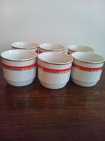 Zsolnai porcelán bögre 6 db
