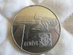 Svájci ezüst tallér 1969 érme 28gr - 0.835ag Geneva