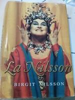Svéd nyelvű könyv Birgit Nilsson szoprán  operaénekes, 1995