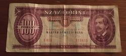 1992-es 100 Ft-os bankjegy