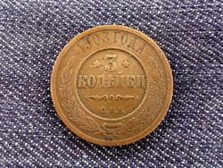 Orosz 3 kopek 1908 / 2940/