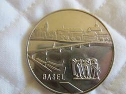 Svájci ezüst tallér 1967 érme 28gr - 0.835ag Basel