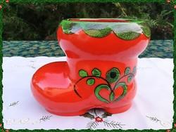 Villeroy & Boch csizma formájú porcelán tároló