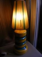 Retro iparművészeti asztali lámpa