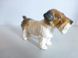 Karl Ens porcelán kutya,terrier